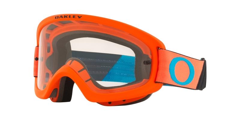 Masque OAKLEY O Frame 2.0 Pro XS MX Tuff Blocks Orange Blue écran clair
