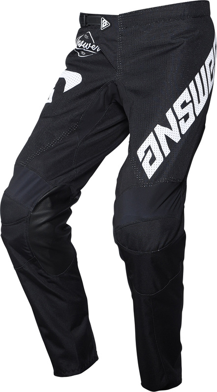 Pantalon ANSWER Arkon Bold Black/White taille 34