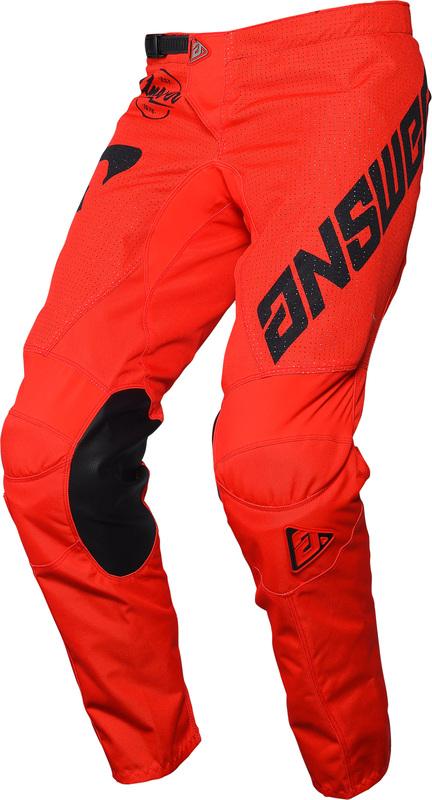 Pantalon ANSWER Arkon Bold Red/Black taille 34