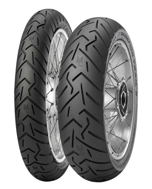 Pneu PIRELLI Scorpion Trail II (F)(D) STD + Ducati Multistrada Enduro 120/70 ZR 19 M/C 60W TL