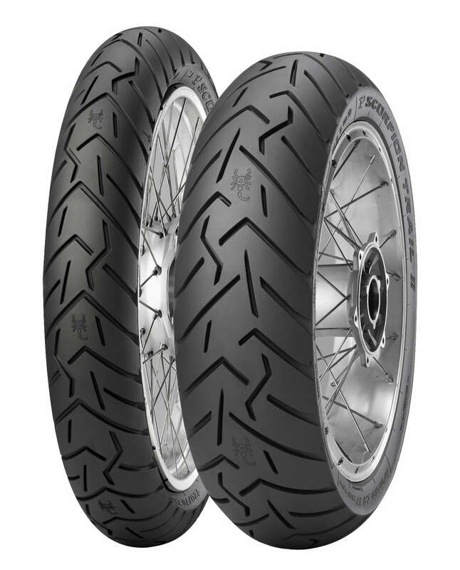 Pneu PIRELLI Scorpion Trail II (D) STD + Ducati Multistrada Enduro 170/60 ZR 17 M/C 72W TL
