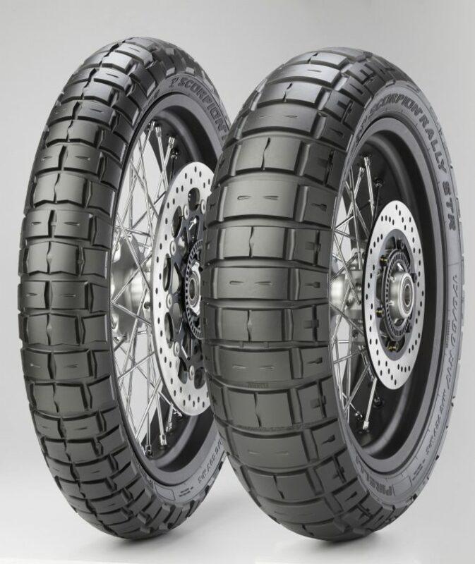 Pneu PIRELLI Scorpion Rally STR Triumph, Scrambler xR 150/70 R 17 M/C 69V TL M+S