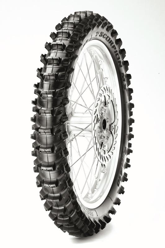 Pneu PIRELLI Scorpion MX Soft 100/90-19 M/C 57M NHS TT